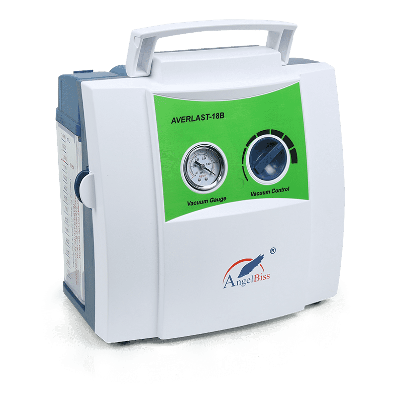 Rechargeable Portable Suction Unit (AC, DC, Built-in Batteries) AVERLAST 25B