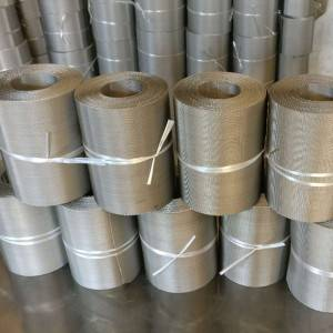 8 Year Exporter Welded Wire Screen - Stainless Steel Wire Mesh – Ansheng