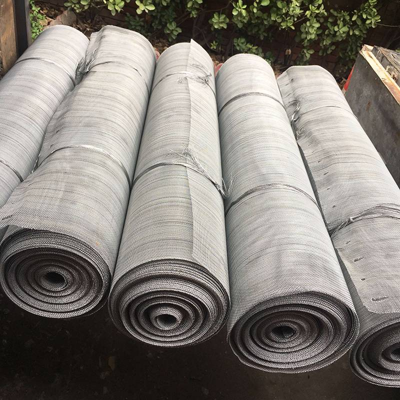 Good Quality Mild Steel Wire Mesh – Galvanized Woven Wire Mesh – Ansheng