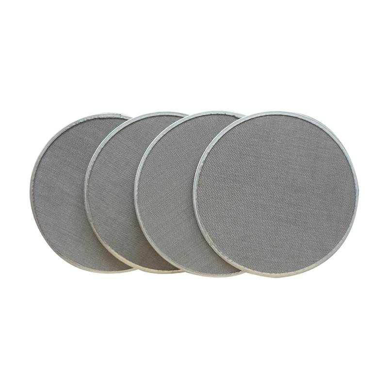 Super Lowest Price Sintered Porous Stainless Steel Filters - Extruder Filter Series – Ansheng