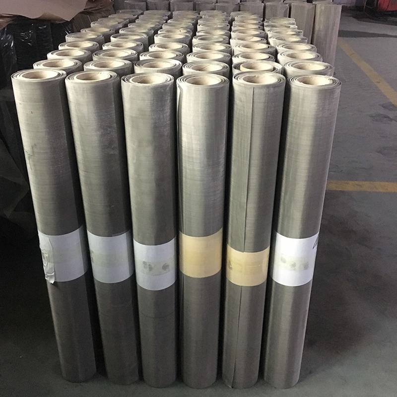 New Fashion Design for Galvanized Screen Wire – Stainless Steel Wire Mesh – Ansheng