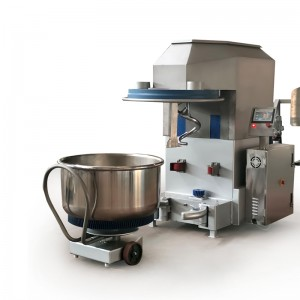 Removable dough mixer