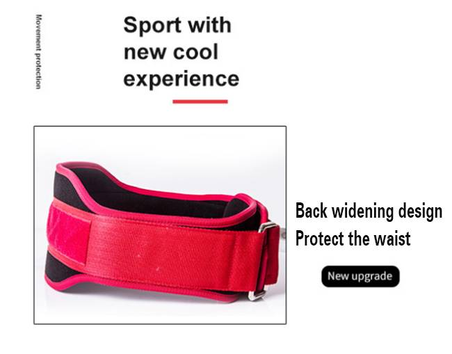 High quality weightlifting body-building belt