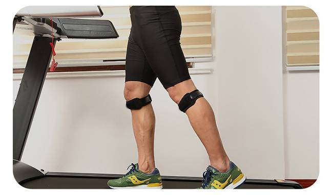 Antiskid kneecap suitable for professional athletes