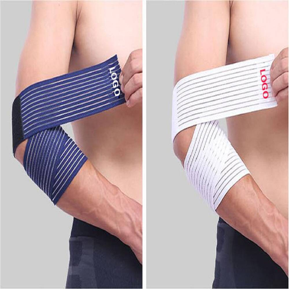 Fitness cricket gel elbow support pad sleeves