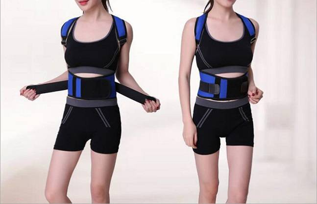 Cheap PriceList for Neoprene Lumbar Support Belt - Shoulder extending comfortable  posture corrector – AoFeiTe