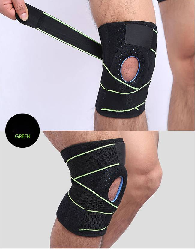 Adjustable breathable pressurized kneecap Featured Image