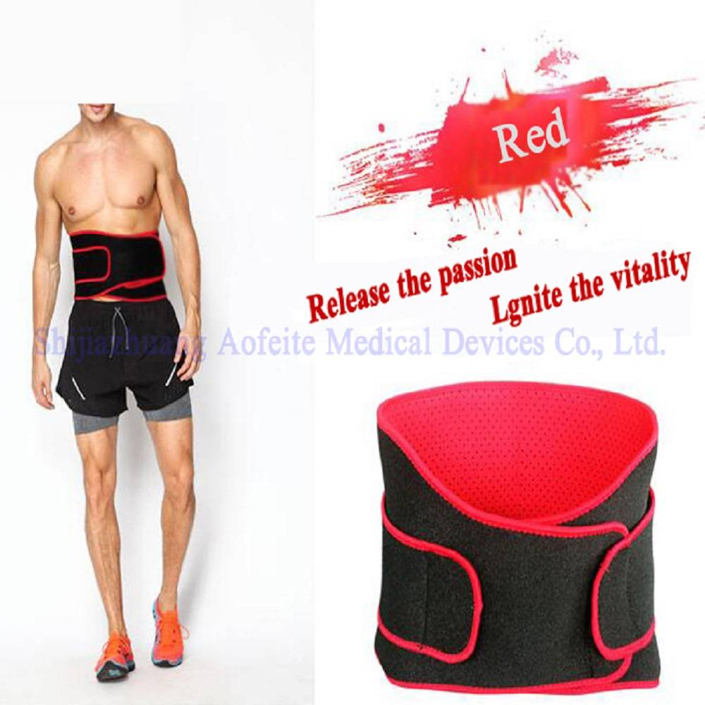 Manufacturer of Medical Back Support Belt - Ventilated magnetic waist support belt for men – AoFeiTe