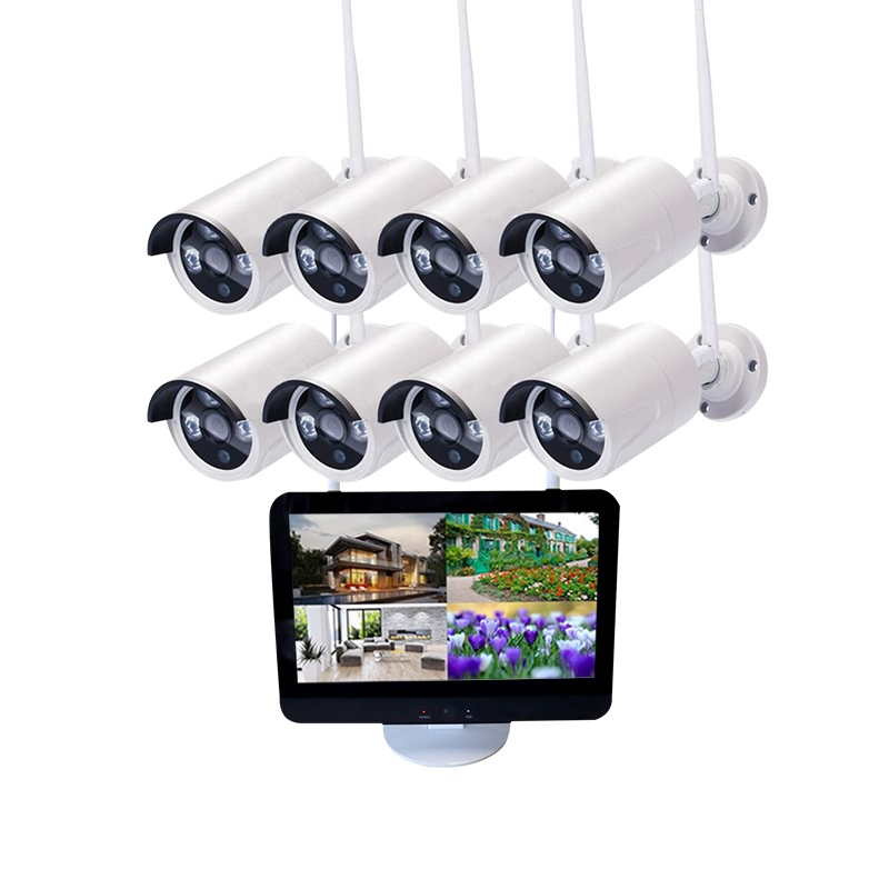 8CH 720P/1080P HD Wifi NVR Kits with Screen Featured Image
