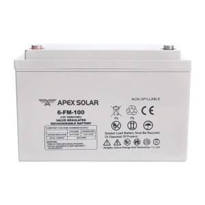 12v 100ah lead acid AGM GEL battery