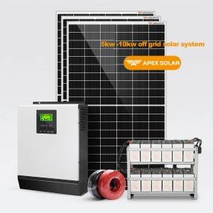 High Performance Solar Pv Battery - Solar off Grid System 5kw-20kw – Apex Solar