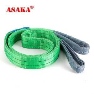 CE certification High quality polyester flat webbing sling