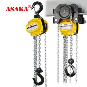 factory Outlets for Lifting Hand Winch - hot selling  hand chain block manual chain hoist – ASAKA