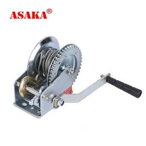 New Fashion Design for Lever Chain Block - Hand Puller Winch  1200lbs Strap Hand Winch – ASAKA