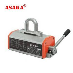 Factory Cheap Hot Lever Hoist 250kg - Steel Plate Permanent Lifting Magnets Manual Magnetic Lifter – ASAKA