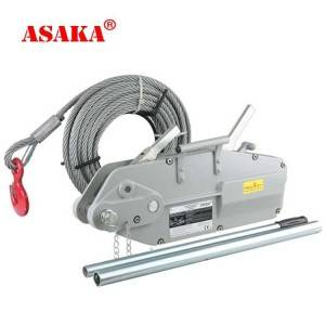 Discountable price Trailer Ratchets - Hot Selling Zone Mini Manual Hand Winch Hand Wire Rope Winch – ASAKA