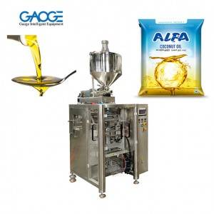 1KG Cooking Oil Packing Machine Dual Servo Control