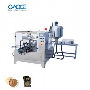 Automatic Sesame Sauce Rotary Packing Machine Premade Ziplock Pouch Packing Machine