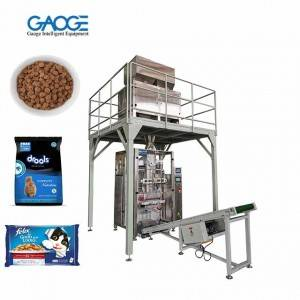 Pet Foods Bag Filling & Sealing Vertical Packaging Machine (VFFS)
