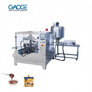Chocolate Sauce Pouch Filling Machine and Doypack Packaging Machine