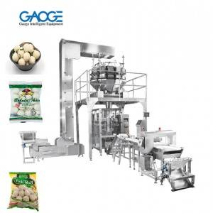 IQF Frozen Packaging Machine Weighing + Filling Systems