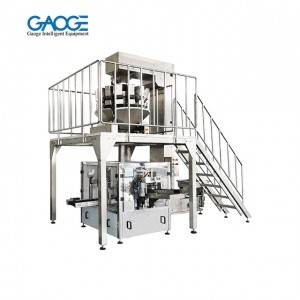 GPB Zipper Doypack Granule Given Bag Packaging Machine