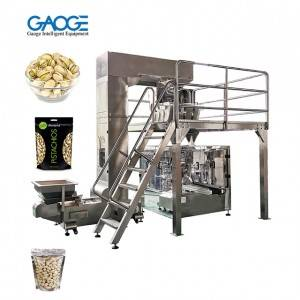 Fully Automatic Doypack Stand Up Pouch Zip Bag Pistachio Packing Machine