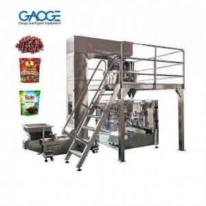 Automatic Premade Stand Up Bag Doypack Granule Salt Sugar Coffee Packing Machine