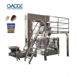 Automatic Doypack Stand Up Pouch Zip Bag Salt Packing Machine