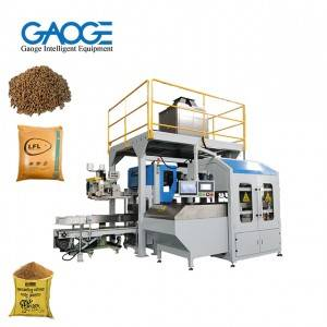 Automatic 20-50kg Horse Feed Packing Machine Open-mouth Bagging Machine