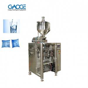 Liquid Paste Bag filling Sealing and Packaging Machine