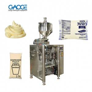 Mayonnaise Packing Machine – Liquid Packing Machine With Piston Filler