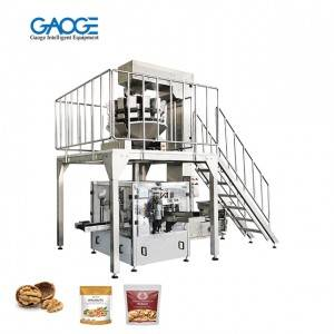 Premade Pouch Rotary Fill and Seal Granules Grains,Nuts Packing Machine