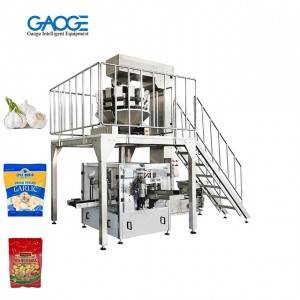 Premade Pouch Rotary Fill and Seal Onion Packaging Machine