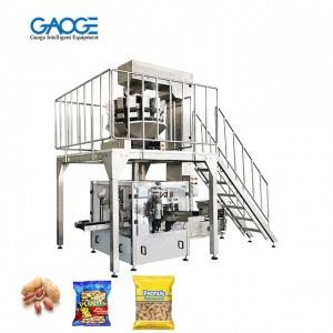 Premade Pouch Peanut Packaging Machine