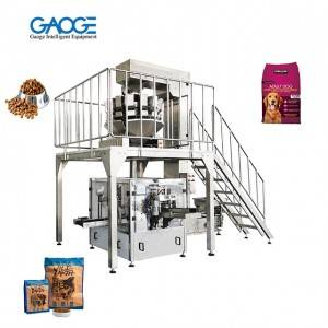 Fully automatic Pre-made Pouches Pet Food Doypa...