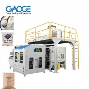 Automatic Salt Packing Machine Open-mouth Bag Bagging Machine