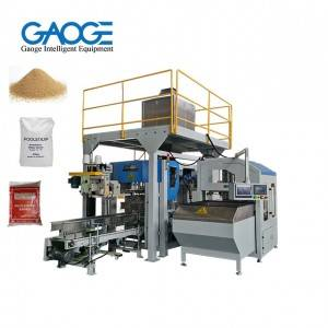 Automatic Sand Packing Machine Open-mouth Bag Bagging Machine