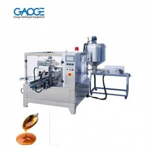 Syrup Pouch Filling Sealing Packing Machine