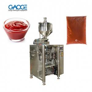 Automatic Ketchup Tomato Sauce Packing Machine