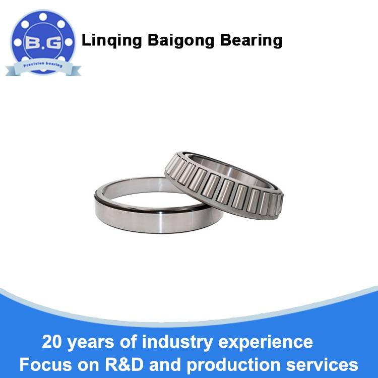 Tapered non-standard bearings