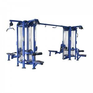 Factory wholesale Shoulder Gym Machine - 8 muliti station  jungle BS-ANS-3026 – Baisheng