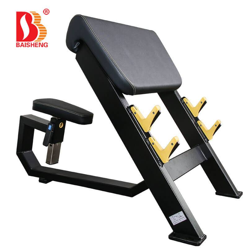 Reasonable price Shoulder Workout Machine - Arm Curl Bench BS-F-1034 – Baisheng