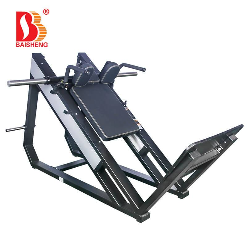 Professional China Squat Rack With Weights - Hack Squat Machine BS-F-1027 – Baisheng
