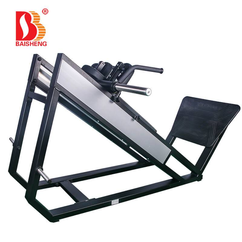 China Gold Supplier for Ab Crunch Machine - Hack Squat Machine BS-F-1027 – Baisheng