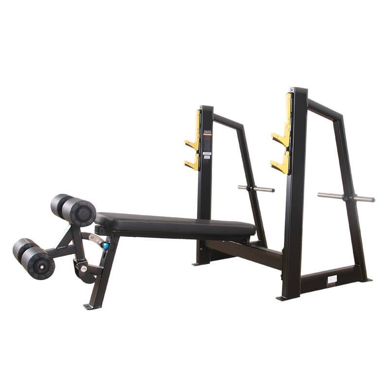 Reasonable price Commercial Exercise Equipment - Olympic Decline Weight Bench BS-F-1031 – Baisheng