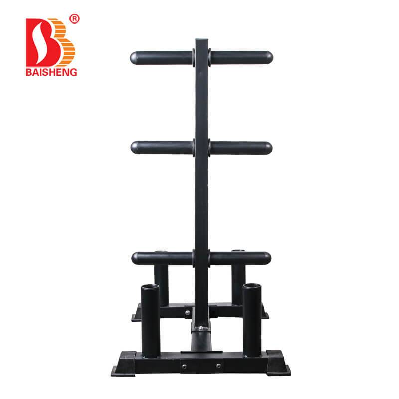 18 Years Factory Standing Leg Curl - Weight Plate and Barbell Tree BS-F-1048S – Baisheng