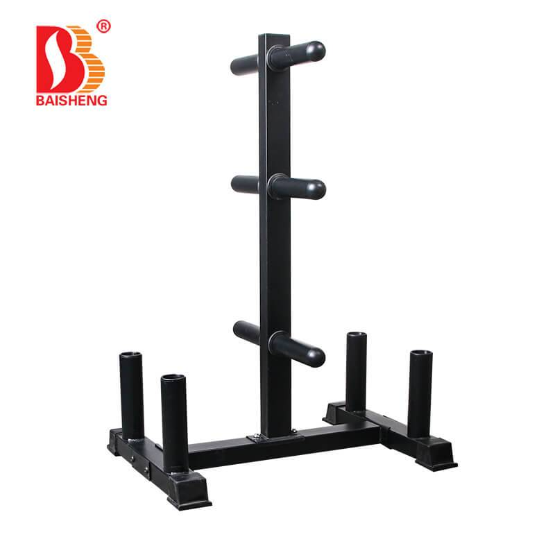 Weight Plate and Barbell Tree BS-F-1048S