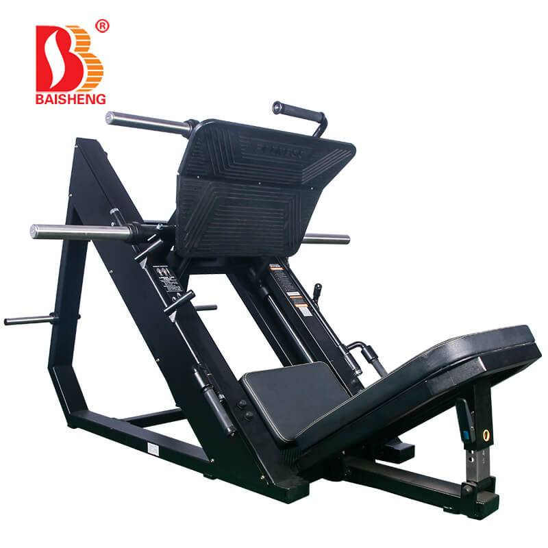 18 Years Factory Standing Leg Curl - Linear Leg Press BS-F-1049 – Baisheng