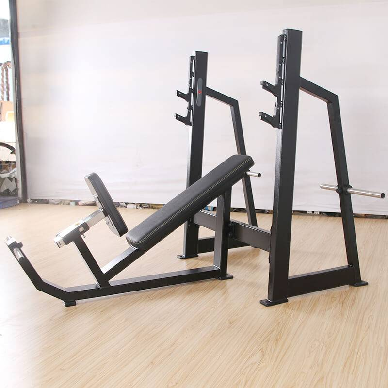 100% Original Factory Multi Gym Machine - Olympic Incline Weight Bench BS-F-1032 – Baisheng
